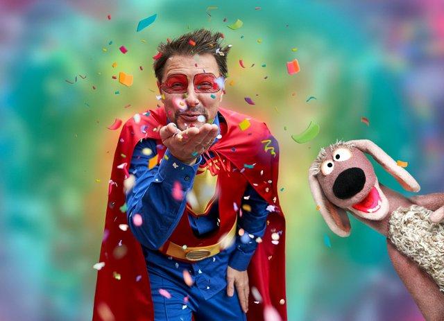 Das etwas André Karnevalskonzert mit Dackl