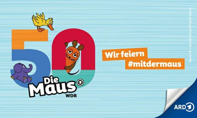 WDR Die Maus wird 50 Wir feiern mit der Maus