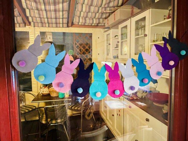 DIY Fensterschmuck zu Ostern