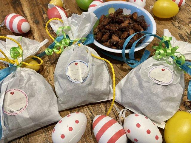 Rezept: Gebrannte Mandeln zum Verschenken