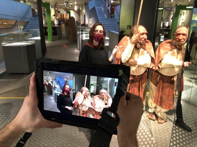 Live-Online-Führung durch das Neanderthal Musuem
