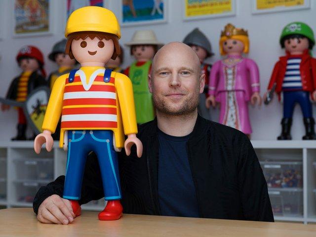 Oliver Schaffer und seine Playmobil-Sammlung