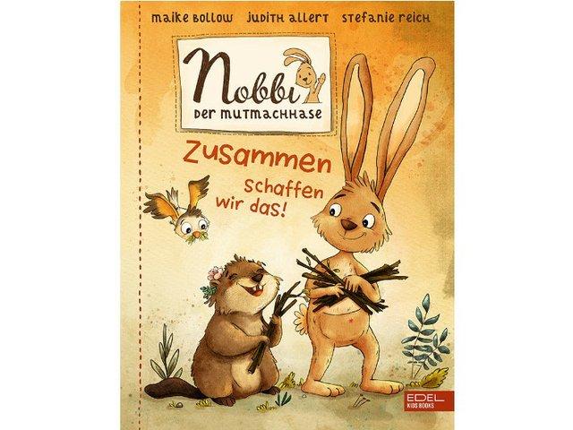 Gewinnspiel: Nobbi, der Mutmachhase