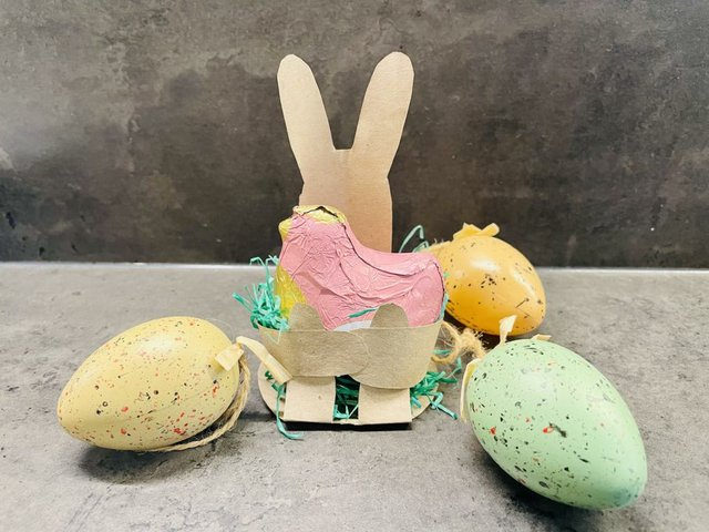 Oster-DIY: Schnelles Osternest