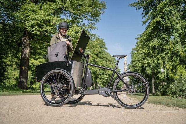 Kippstabiles E-Dreirad von Brose