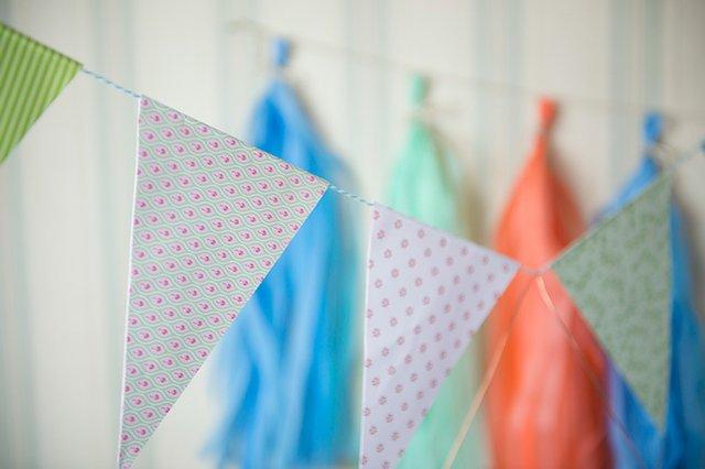 DIY: Wimpelkette fürs Sommerfest