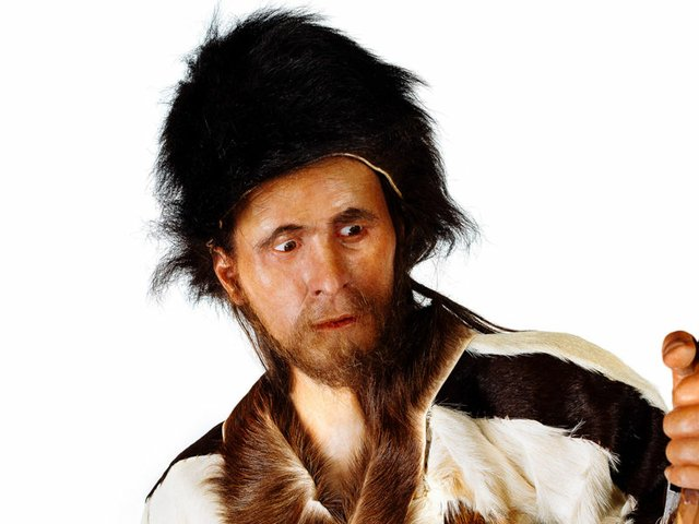 Ötzi - Rekonstruktion